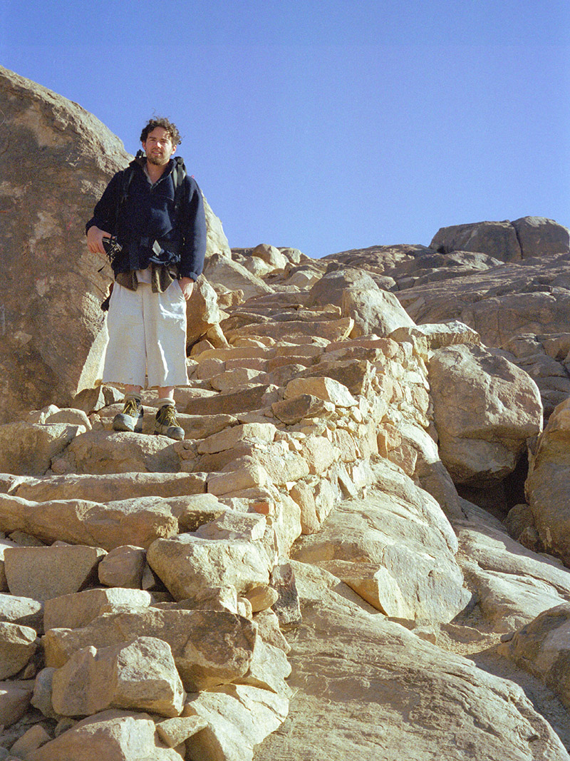 egypt/1998/mt_sinai_stairs_brian_2