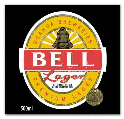 Bell Lager label