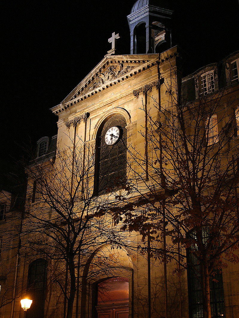 france/paris_marais_church_night