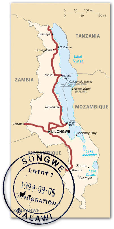 malawi_route_map
