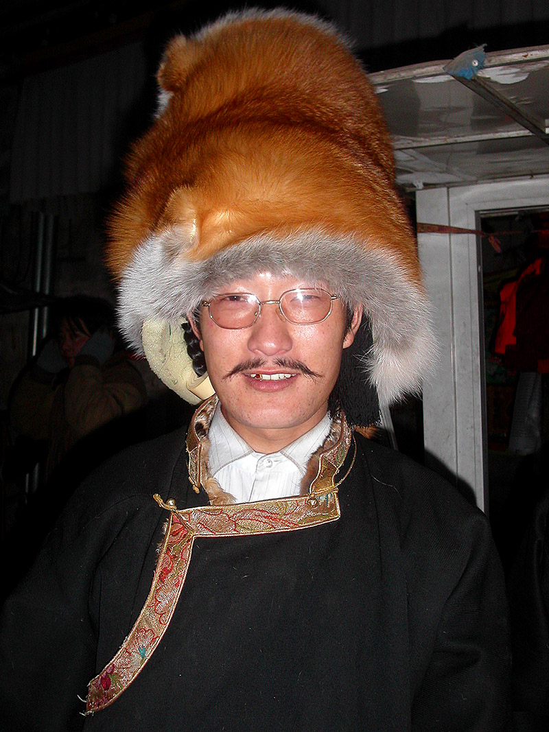 tibet/lhasa_man_fur_hat_glasses_204