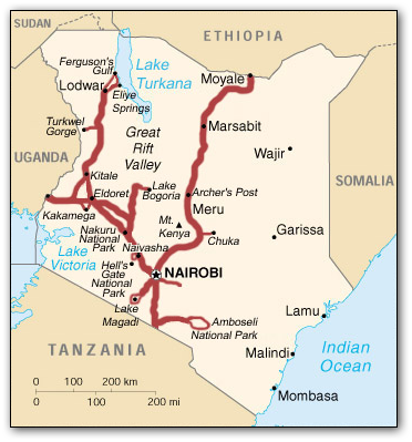 kenya_route_map