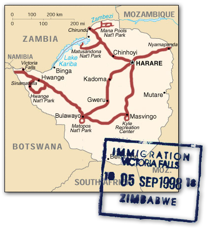 zimbabwe_route_map