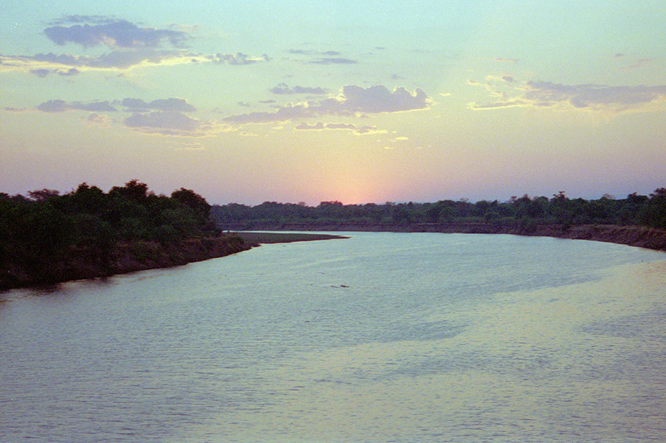 zambia/south_luangwa_river_at_sunset